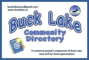Community Directory – Buck Lake Association