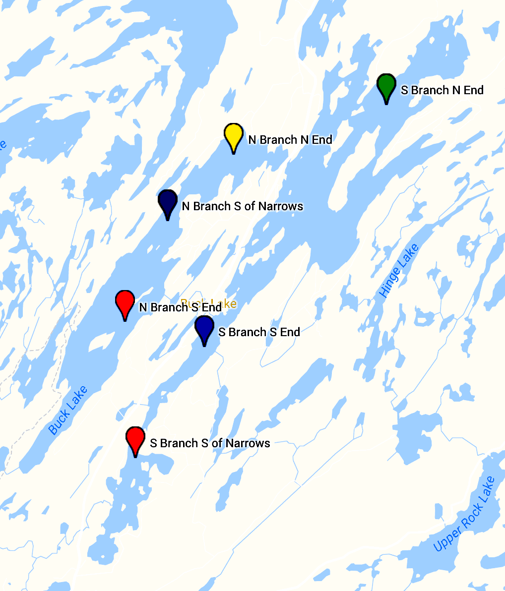 Lake Partner Program Sample Locations